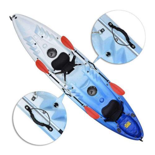 VGEBY Kayak Carry Handle Canoe Boat Side Mount Handle with Bungee Cord