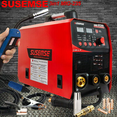 3in1 Flux Core Mig Welder Lift Tig Arc Wire Gasless Welding Machine Inverter