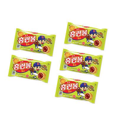 Soft choco cookie / Popular Korean Snack / Haitai Home run Ball (46g)-5PCS