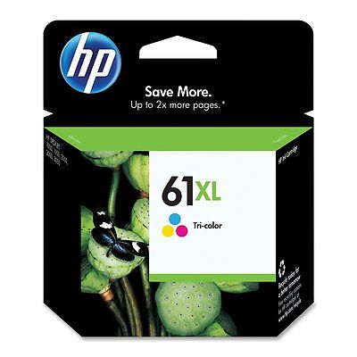HP Genuine 61XL Color Single Inkjet Cartridge In Date Exp. Date 2018
