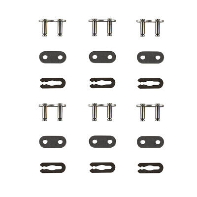6x 415 Chain Master Link Kit Set For 2 Cycle 80cc Motorized Bicycle New