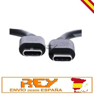 Cable USB Tipo C Macho a USB Tipo C Macho 1 Metro...