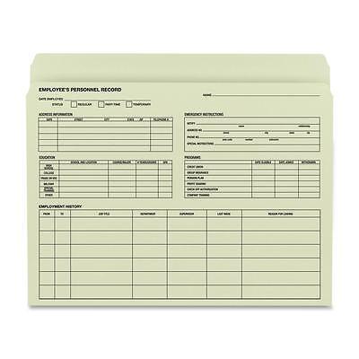 Smead Employee Record File Folder 11-12x9-12 20pk Manila 77000