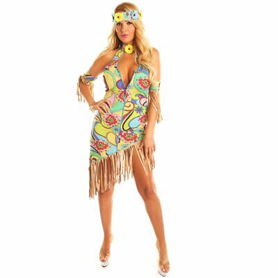 Women's Hippie Hipster Costume Fancy Ball Party Christmas Dress Up Suits Cosplay](Hipster Costume)