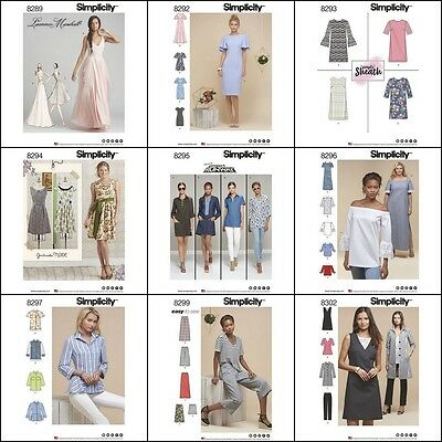 New Simplicity Sewing Pattern  2017 Outfits Misses and Plus Sizes You Pick](New Outfit 2017)