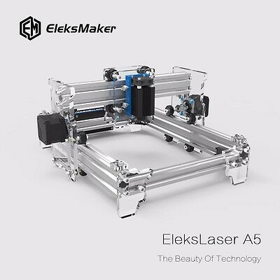 Elekslaser-a5 Pro 2500mw Laser Engraving Machine Cnc Laser Printer Original