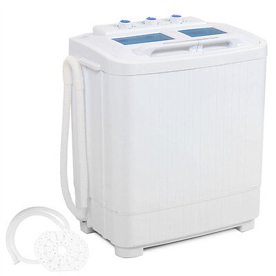غسالة و مجفف ملابس جديد Portable mini small rv dorms Compact 8 – 9lb Washing Machines Spin Dryer Laundry