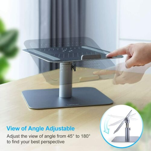 Laptop Notebook Stand, Lamicall Laptop Riser. 360 Rotating Adjustable Height