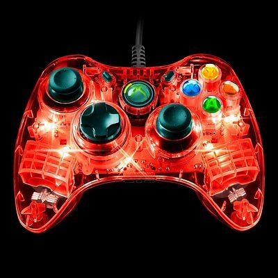 Afterglow Wired Controller For Xbox 360 - Red Officially ...