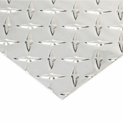 Aluminum Tread Brite Plate 0.080 X 24 X 24