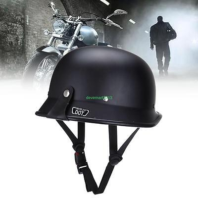 Dot Standards Motorcycle Helmets (German Style Motorcycle  DOT Safety Standard Half Helmet M L XL Size For Adult )