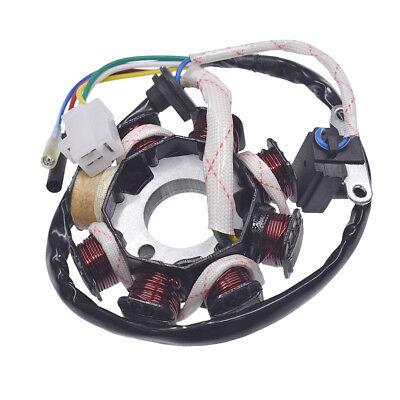 - GY6 50cc 8 Pole 3 Pins Magneto Stator Coil For 50cc Stock ATV Go Kart ROKETA