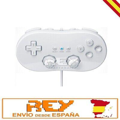 Mando CLASSIC CONTROLLER para Wii BLANCO Entrega 48/72h n23