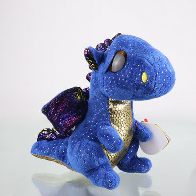 "6""Beanie Boos Glitter Eyes Plush Stuffed Animals Toys Kids Xmas Gift -With tags#"