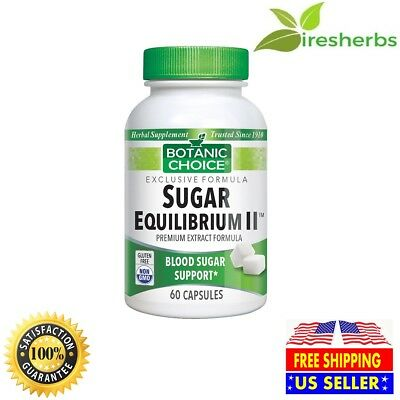 #1 Best Blood Sugar Support Herbal Supplement Maintains Cholesterol 60