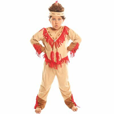 Kids Halloween Christmas Costume Navajo Warrior for Boy Fancy Ball Cospaly Suits - Warrior Costume For Kids