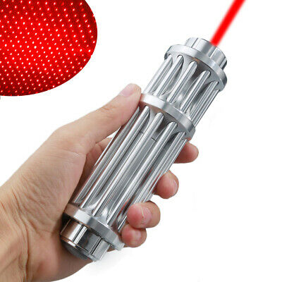 Military Red Laser Pointer Pen 650nm 1mw Burning High Power Beam Lightstar Cap