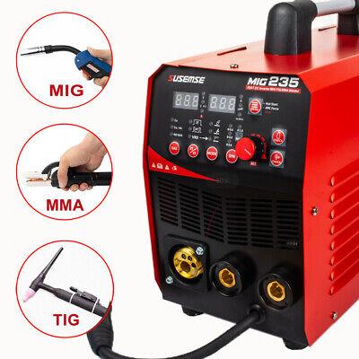 Mig235 Amp Mag 110v220v Welder Flux Stainless Welding Machine Gasno Gas