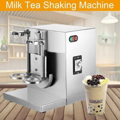 110v 120w Bubble Boba Milk Tea Shaker Shaking Machine Mixer Auto Control Cream