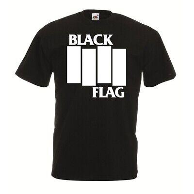 irt S-XL Minor Threat 7 Seconds Dead Kennedys Bad Brains MDC (Flag Shirt)