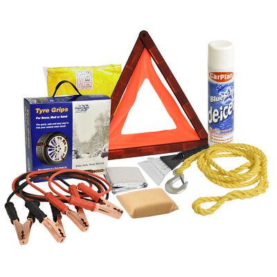 Winter Car Travel Kit Safety UK Breakdown Weather Essential Snow Ice Set