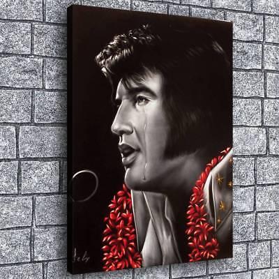 "Elvis Presley HD Canvas prints Painting Home decor Picture art Poster 24""x32"""