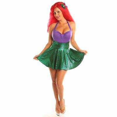 SALE! Sea Mermaids Role Play Costume Set Halloween Cosplay For Women