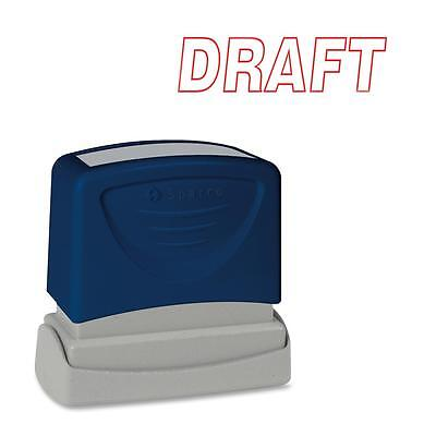 Sparco DRAFT Title Stamp 1-3/4