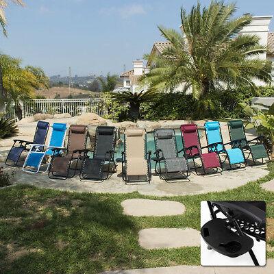 2 folding zero gravity reclining lounge chairs