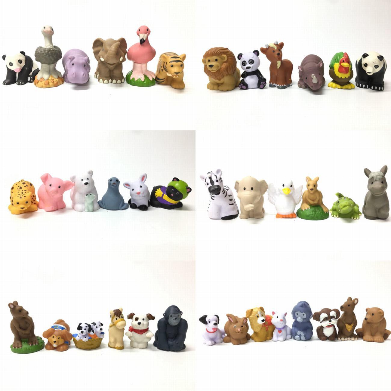 Random 12x Fisher Price Little People Farm Zoo Animal Figure Toy Ha514 Ebay
