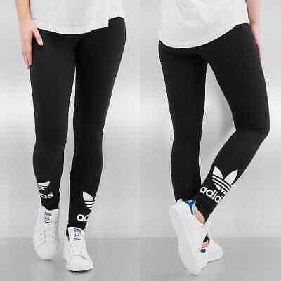 Adidas Originals TRF Womens Leggings Gym All Sports  Black 8 10 12 14