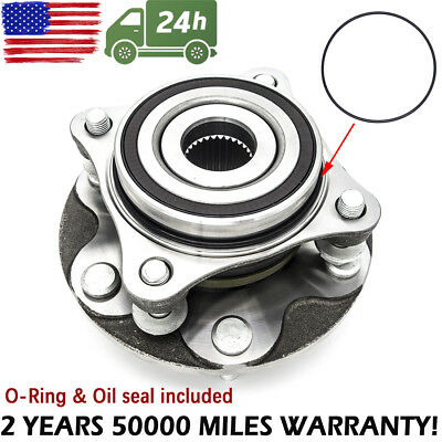 FRONT WHEEL BEARING HUB ASSEMBLY KIT Fit For 2005-15 TOYOTA TACOMA 4X4 4Runner
