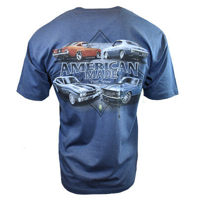 Antique Ford Mustang - FORD MUSTANG Mens Tee T Shirt American Muscle Car Shelby Vintage Racing Logo NEW