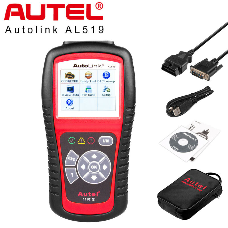 Autel Autolink Al519 Obd2 Fault Code Reader Scanner Obdii Auto Diagnostic Tool