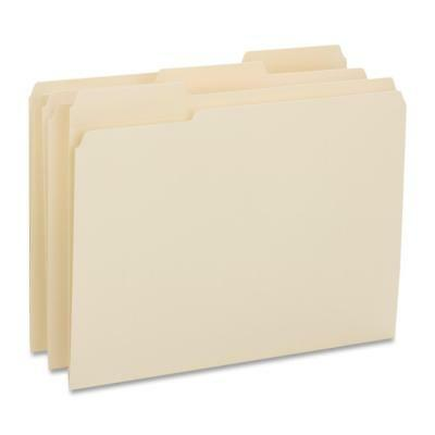 Business Source File Folder Letter 34 Exp. 14pt 13 50bx Manila 16515