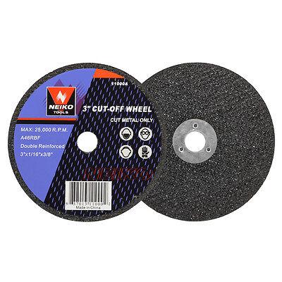 Купить Neiko - 10pc Cutoff Wheels 3 x 1/16 x 3/8 inch for Cutting Metal
