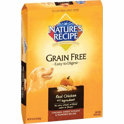 Natures Recipe Grain Free Easy To Digest Dry Dog Food  Chicken  Sweet Potato