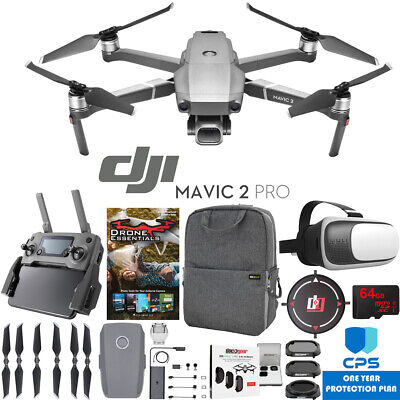 DJI Mavic 2 Pro Drone w/ Hasselblad Camera Essential Backpack & Warranty Bundle