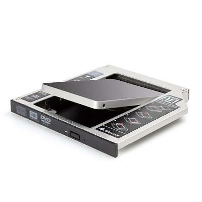 2. HDD/SSD SATA 3.0 (SATA III) Festplattenrahmen Caddy für 12,7mm SATA 2,5 Zoll