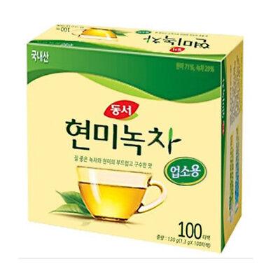 Korea Brown Rice Green Tea 100 Tea bags Korean Health Natural Traditional Tea