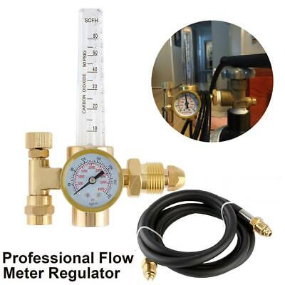 Argon Co2 Flow Meter Regulator Mig Tig Flowmeter Welding Gauge For Welding Work