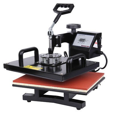 15x12 Heat Press Photo T-shirt Sublimation Transfer Machine With Digital Timer