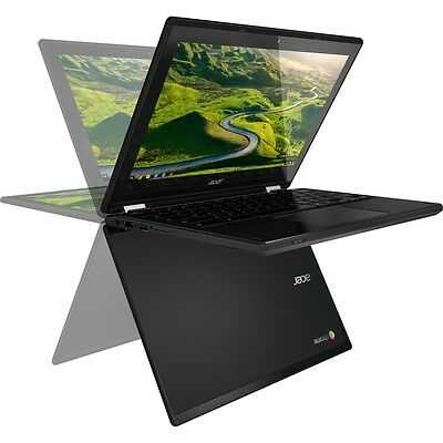 Android Chromebook Acer R11 C738T TouchScreen HD LCD 4GB 16GB Tablet Laptop