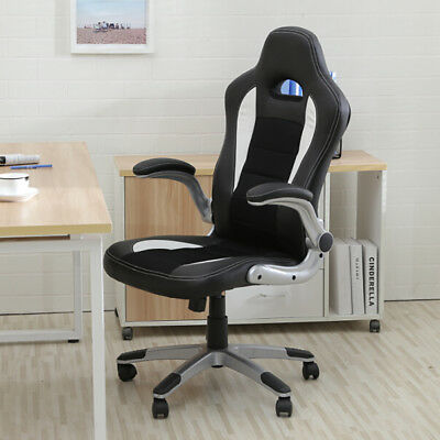 Belleze© Executive Racing Style Bucket Seat PU Leather