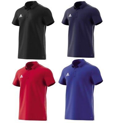 Adidas Herren Polos (adidas Poloshirt Männer ClimaLite Herren Polo Shirt Shirts Fitness Hemd schwarz)