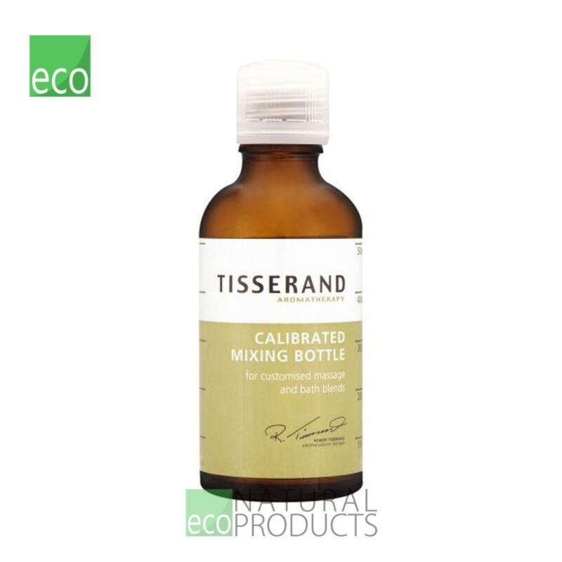 Tisserand Aromatherapy Equipment Calibrated Mixing Bottle Empty 50ml