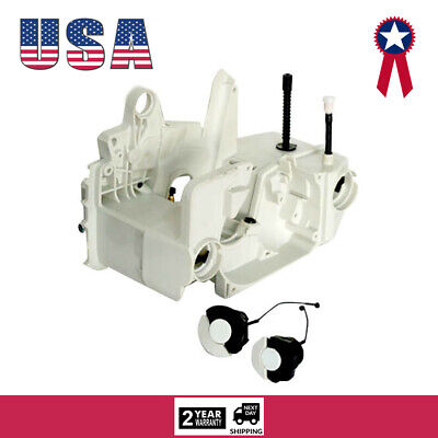 Crankcase Engine Housing Oil Fuel Gas Tank For STIHL 021 023 025 210 MS250 MS230