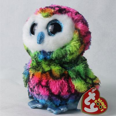 "6""Beanie Boos Glitter Eyes Plush Stuffed Animals Toys Kids Xmas Gift (With tags)"