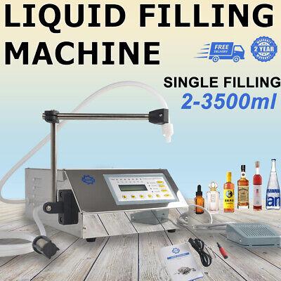 Liquid Oil Filling Machine Automatic Digital Control Bottle Filler 2-3500ml