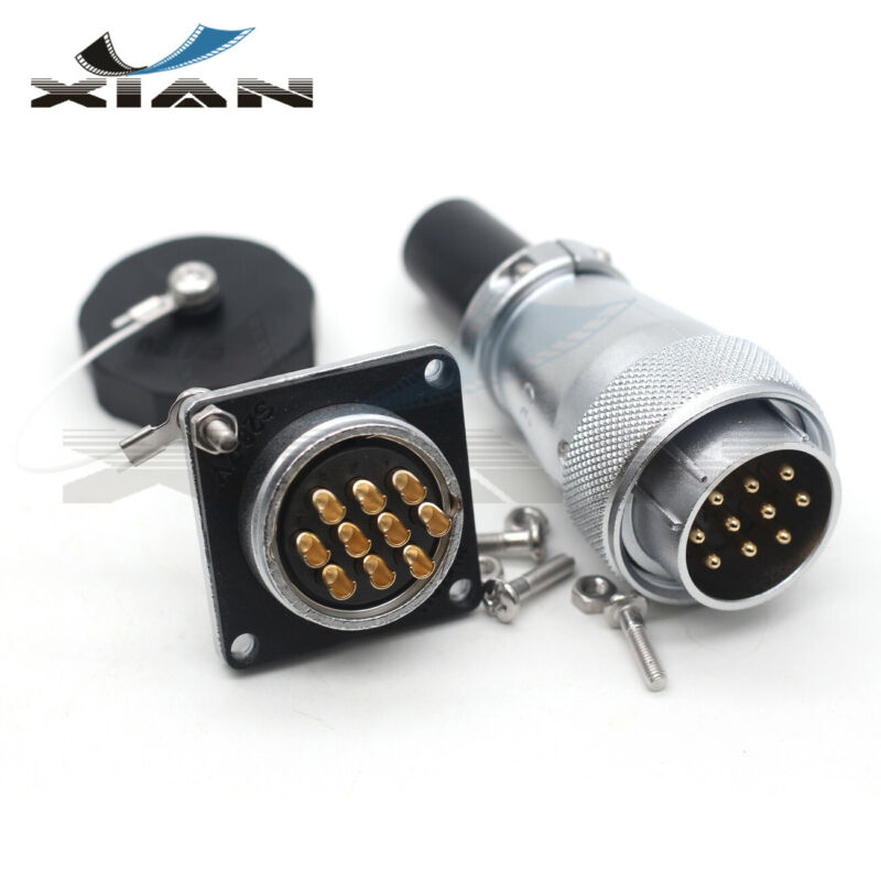 WEIPU WS28 10Pin Aviation Plug Socket,Industrial Electrical Equipment Connector